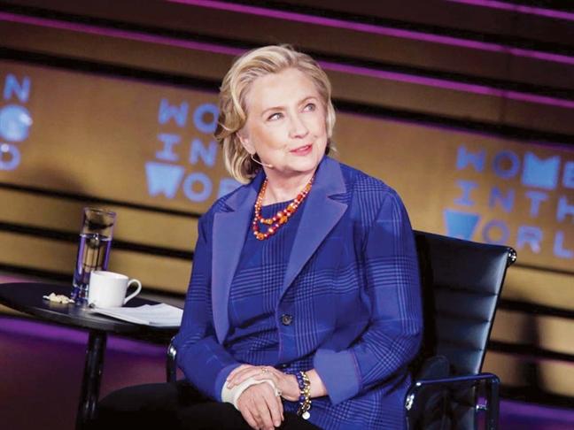 Ba Hillary Clinton lam phim