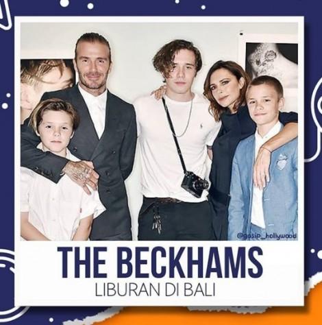 Loạt ảnh 'siêu yêu' của những đứa trẻ nhà Beckham du lịch ở Bali