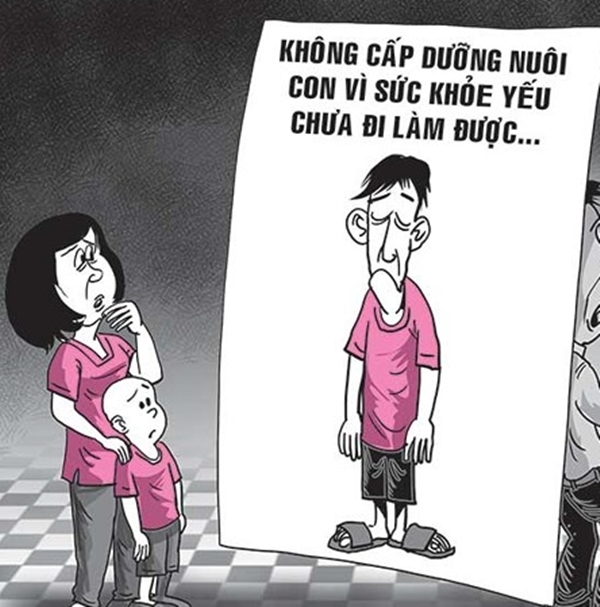 Doi tien cap duong nuoi con: Kho, nhung van phai lam!