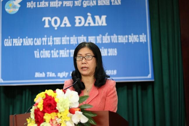 Quan Binh Tan: No luc xay dung to chuc Hoi tai cac chung cu, khu nha tro