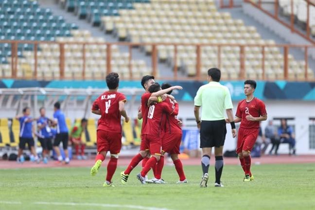 Olympic Viet Nam thang to nhung van lo