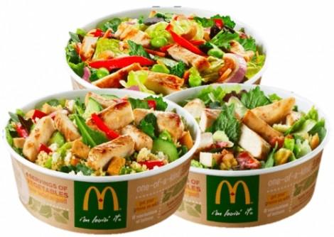 Mỹ: Hơn 400 người mắc bệnh đường ruột vì ăn salad McDonald