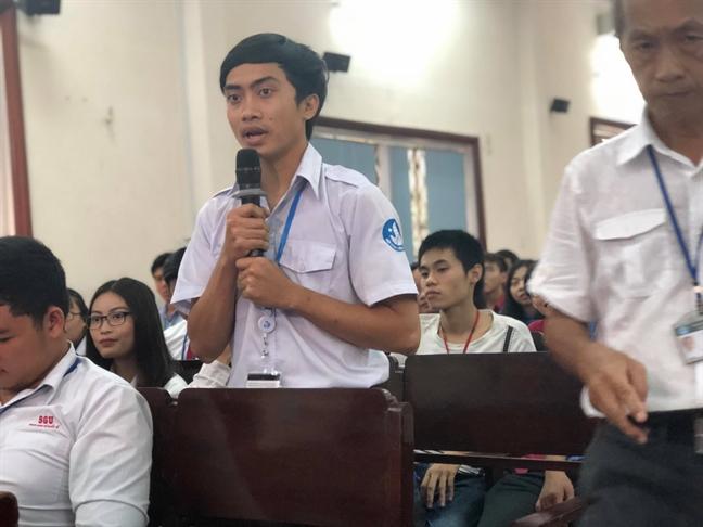 Bi thu Thanh uy TPHCM: Ung ho mo hai truong thuc hanh cho DH Sai Gon