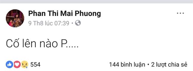 Dien vien Mai Phuong bi ung thu phoi giai doan cuoi