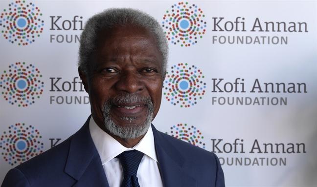 Kofi Annan va bieu tuong bat diet cua tieng noi doi thoai, hoa binh