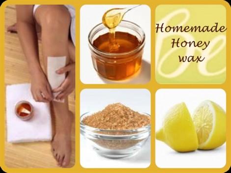 Tẩy lông tại nhà với mật ong vừa rẻ vừa an toàn