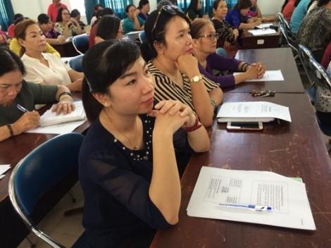 Huyện Hóc Môn: Tập huấn công tác tuyên truyền, vận động phân loại rác tại nguồn