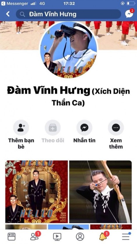 Đàm Vĩnh Hưng về Nghệ An cảnh cáo người giả mạo Facebook