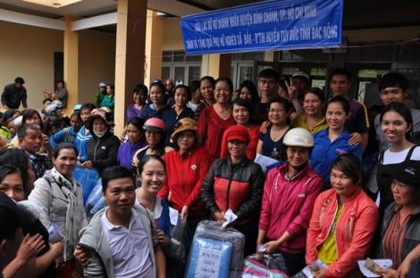 Nữ doanh nhân huyện Bình Chánh chăm lo người nghèo tỉnh Đắk Nông