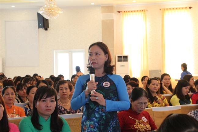 Hoi LHPN TP.HCM: Tong ket 10 nam thuc hien mo hinh Chi hoi chu dong cong tac