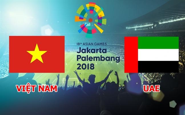 Tran tranh HCD Olympic Viet Nam - Olympic UAE: Hong 2 qua penalty, Olympic Viet Nam lo hen voi huy chuong dong ASIAD 2018
