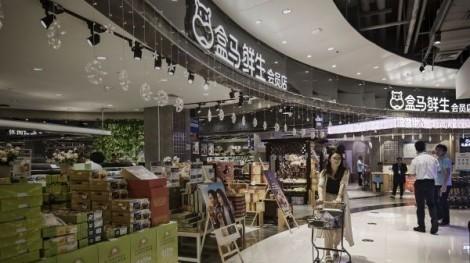 Bên trong siêu cửa hàng kiểu mới của Alibaba