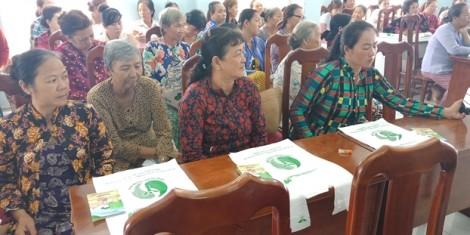 Huyện Cần Giờ: Hội viên bàn về giảm thiểu sử dụng túi nylon