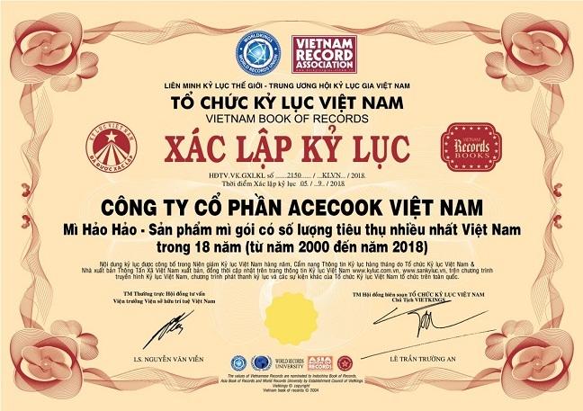 Khanh thanh toa nha van phong Acecook Viet Nam