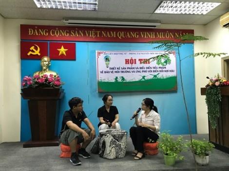 Phụ nữ quận Một sáng tạo trong hoạt động bảo vệ môi trường
