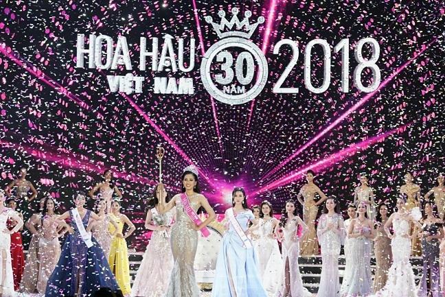 Vietjet va tan hoa hau Viet Nam 2018 Tran Tieu Vy tren hanh trinh den ngoi hoa hau