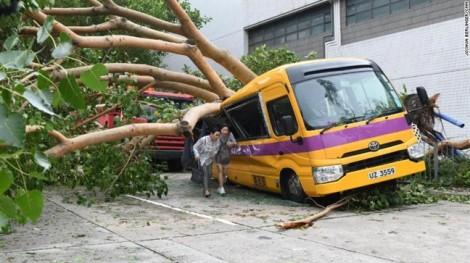 Rời Philippines, siêu bão Mangkhut tấn công Trung Quốc