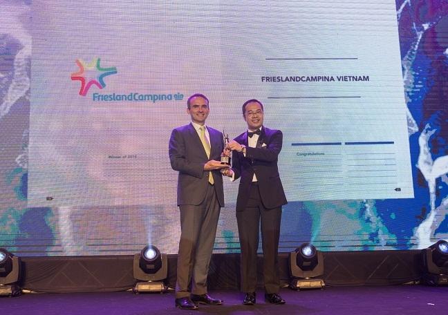 FrieslandCampina Viet Nam duoc vinh danh la mot trong nhung noi lam viec tot nhat chau A 2018