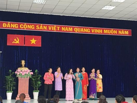 Quan Go Vap: Ket thuc thanh cong khoa tap huan nghiep vu