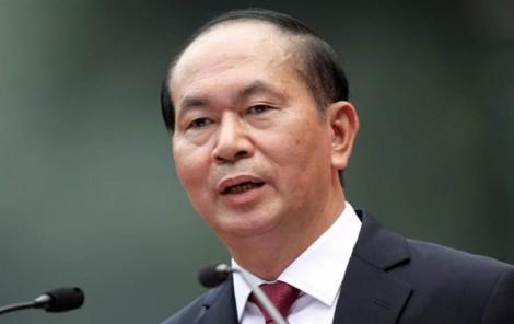 LHQ dành một phút mặc niệm Chủ tịch nước Trần Đại Quang