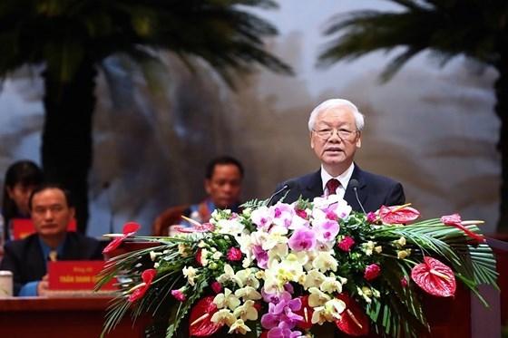Tong Bi thu Nguyen Phu Trong: Tap trung cac nguon luc cham lo cho nguoi lao dong