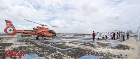 Nhà sư đến Bệnh viện Chợ Rẫy - Phnôm Pênh chữa bệnh bằng trực thăng