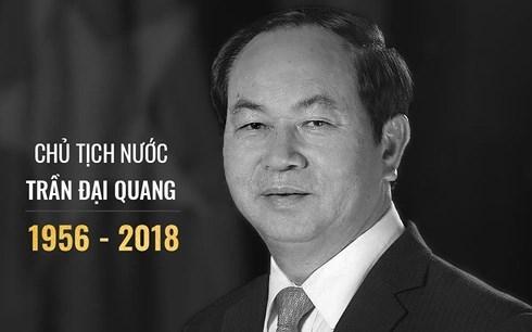 Le vieng Chu tich nuoc Tran Dai Quang tai nhieu nuoc tren the gioi