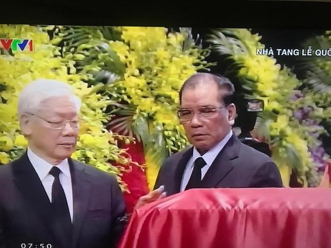 Le truy dieu Chu tich nuoc Tran Dai Quang