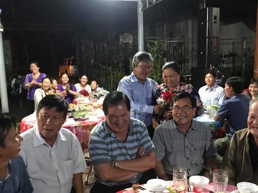 Huyen Cu Chi: Cau lac bo Xay dung gia dinh hanh phuc Trang Ram ky niem tuoi 20