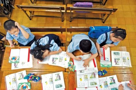Sao lại cấm con trẻ 'phiêu' trên sách giáo khoa?