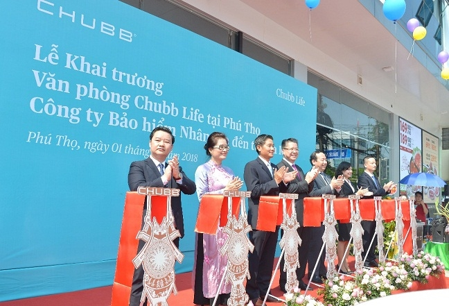 Chubb Life Viet Nam khai truong van phong kinh doanh moi tai Phu Tho