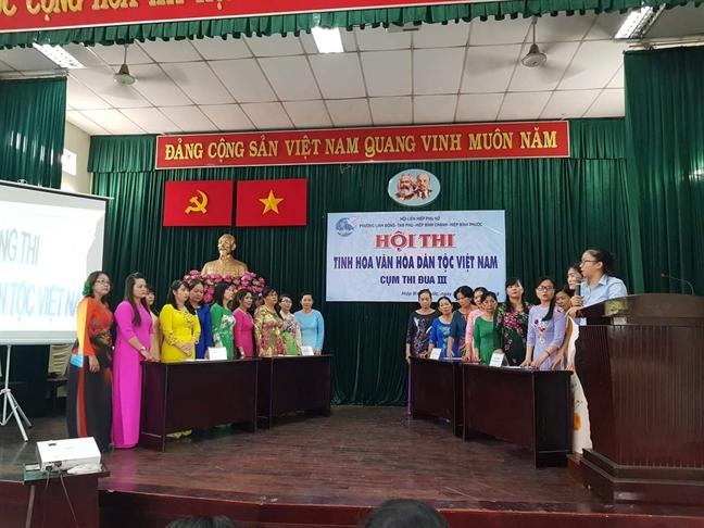 Quan Thu Duc: Phuong Linh Dong doat giai nhat Hoi thi Tinh hoa van hoa dan toc Viet