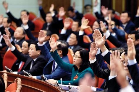 Hôm nay, Trung ương Đảng họp bàn về công tác nhân sự