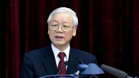 Trung ương giới thiệu Tổng Bí thư Nguyễn Phú Trọng để Quốc hội bầu làm Chủ tịch nước