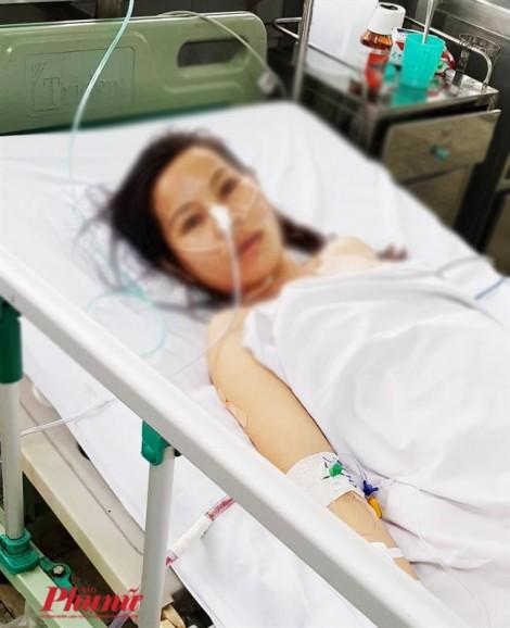 Cứu sống một phụ nữ vỡ gan, mất 4 lít máu, do ngã xe