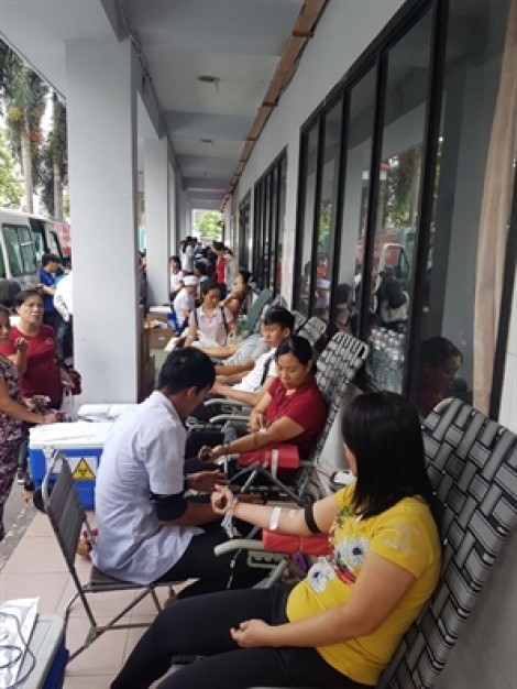 Quận Gò Vấp: Hội viên, phụ nữ tham gia hiến máu