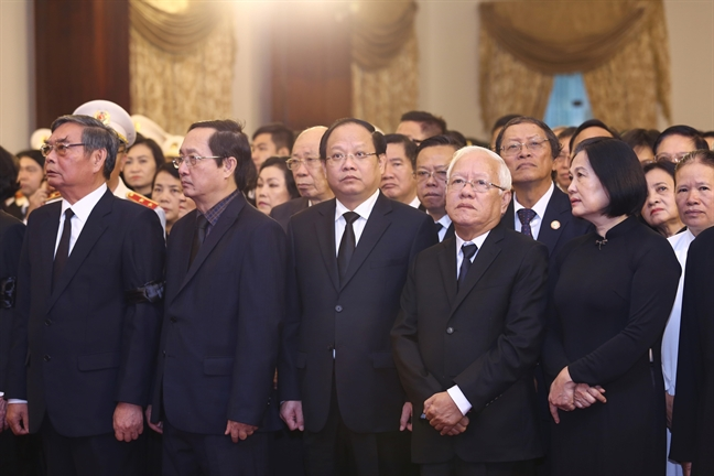 Le truy dieu, an tang nguyen Tong Bi  thu Do Muoi
