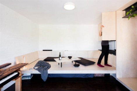 Căn hộ hoàn hảo, tiện nghi dù chỉ rộng 28 m2
