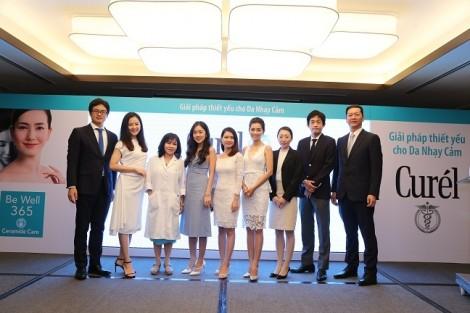 CURÉL – Thương hiệu mỹ phẩm cho da nhạy cảm từ Nhật Bản đã chính thức có mặt tại Việt Nam