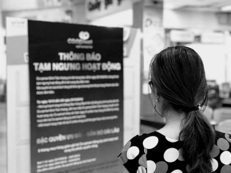Người dân tiếc nuối đi mua hàng lần cuối tại siêu thị Co.opmart Đinh Tiên Hoàng