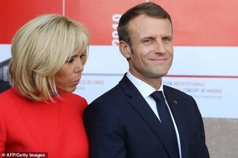 Phu nhân Tổng thống Pháp không hài lòng vì chồng 'nóng tính'