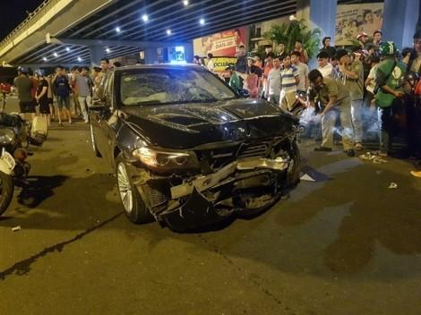 Chủ nhà hàng lái xe BMW gây tai nạn ở Hàng Xanh khai do dép cao gót bị dính chân ga