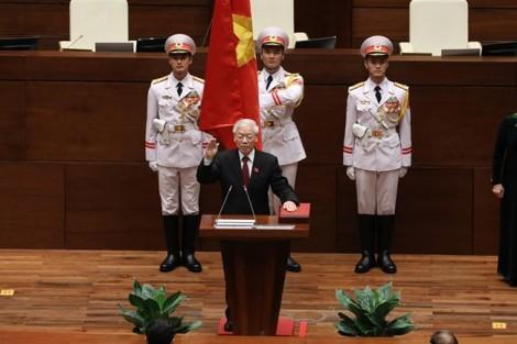 Tân Chủ tịch nước Nguyễn Phú Trọng chia sẻ sau khi nhận nhiệm vụ