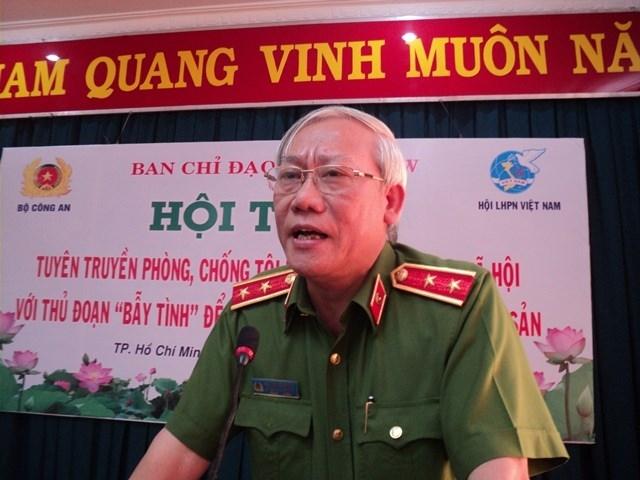 Nhieu tuong cong an lien quan den vi pham o Tong cuc Canh sat