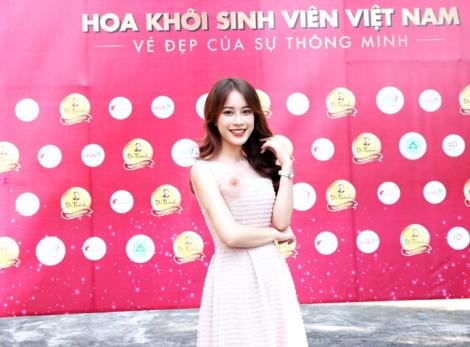 Vẻ đẹp tươi như hoa của giám khảo 'Hoa khôi sinh viên Việt Nam 2018'