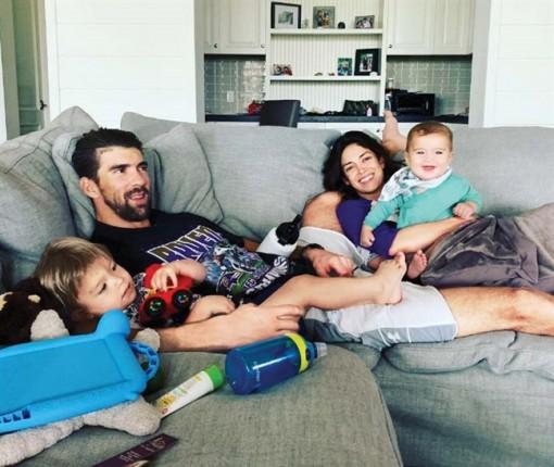 'Kình ngư' Michael Phelps chia sẻ bí quyết làm cha