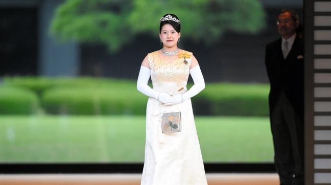Y nghia sau sac an trong le phuc cuoi cua Cong chua Nhat Ban Ayako