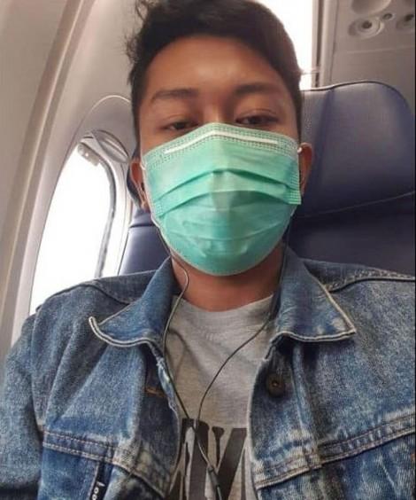 30 phút trước khi chết: Người chồng gửi ảnh selfie cho vợ trước khi máy bay rơi