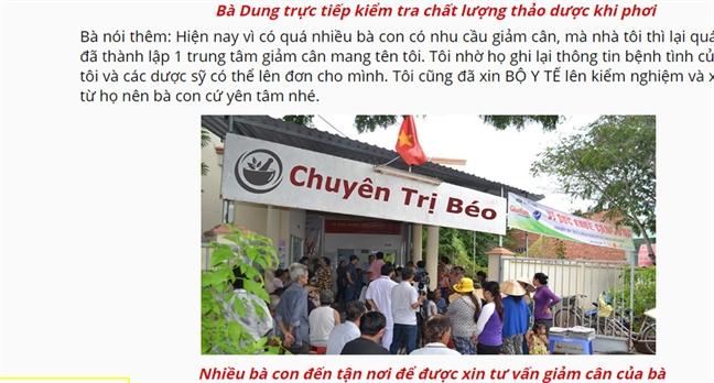 Hoa mat, u tai voi san pham Dong y gia truyen tren mang