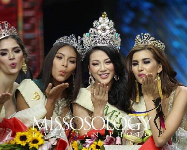 Phuong Khanh: Hanh trinh tu A hau Bien den dang quang 'Hoa hau Trai dat 2018'
